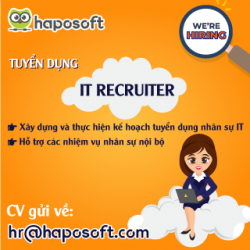 Tuyển dụng IT Recruiter