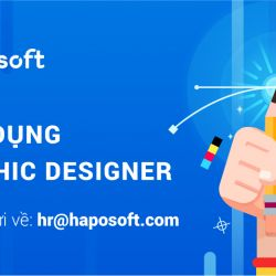 TUYỂN DỤNG: 1 Fulltime GRAPHIC DESIGNER