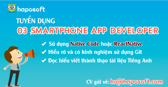 Tuyển dụng: 02 fulltime Tester