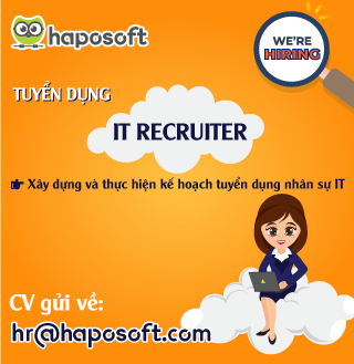 Tuyển dụng 01 IT Recruiter